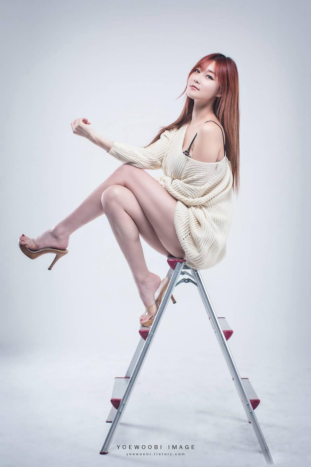 高颜值韩国美女模特