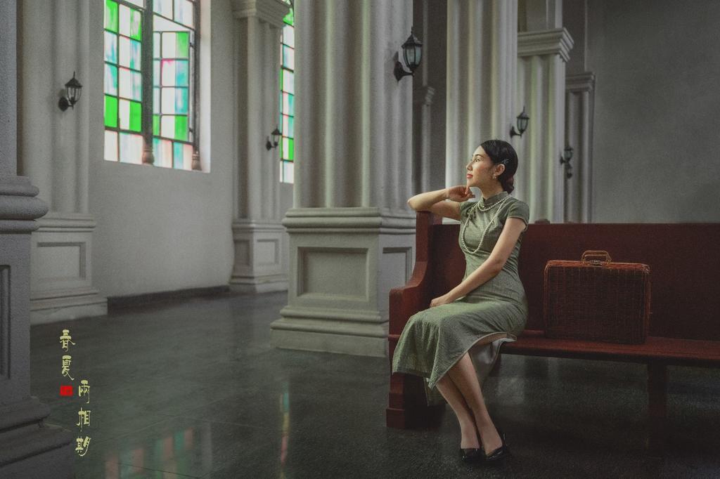 民国时期的旗袍美女
